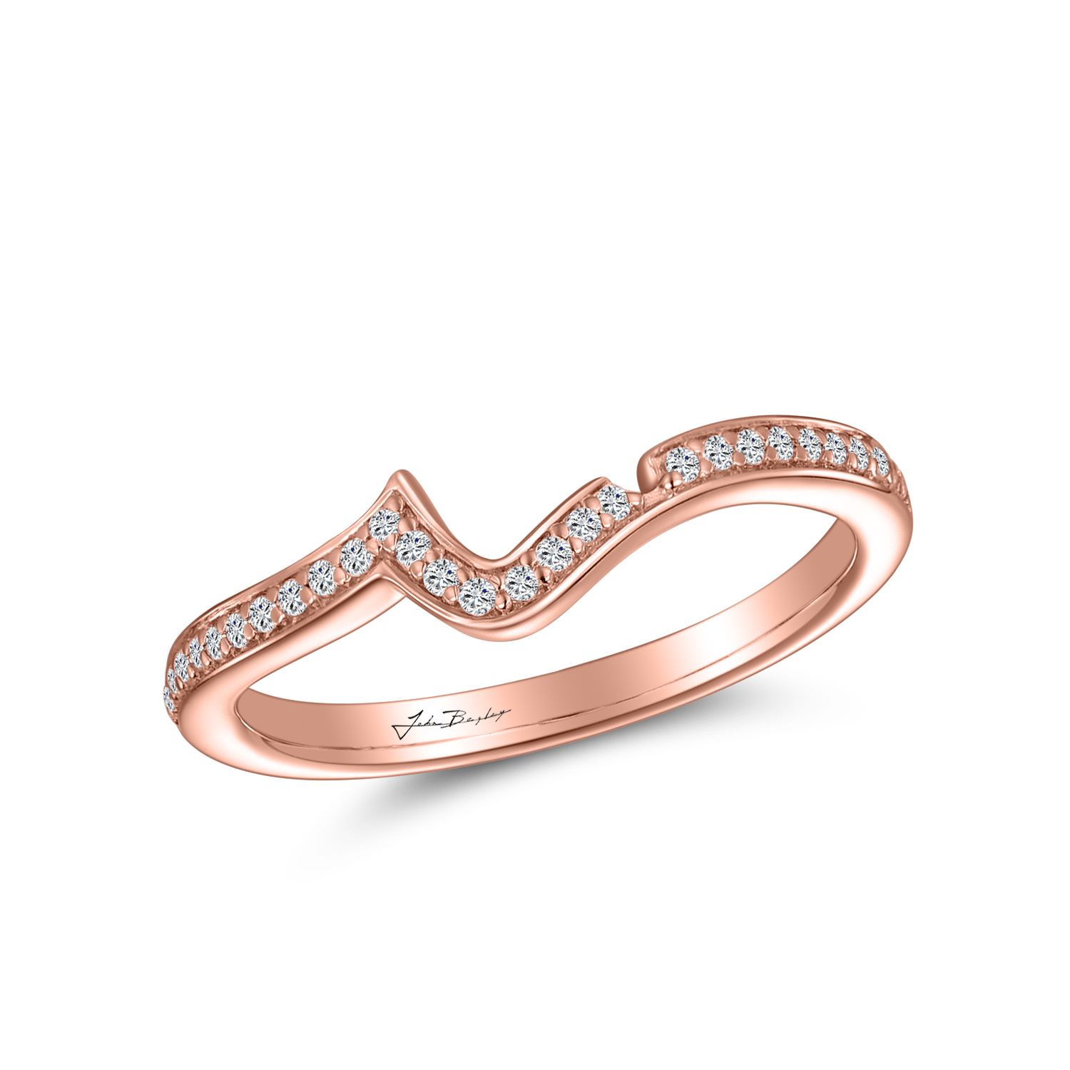 Rose Wedding Band